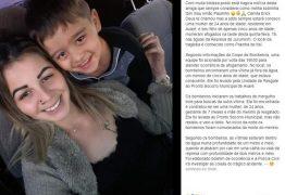 Grávida morre tentando salvar filho afogado em represa; criança também morreu