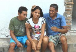 AMOR A TRÊS: Mulher vive com dois 'maridos' na mesma casa em Parnaíba; VEJA VÍDEO