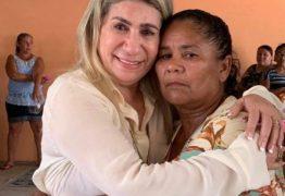 Deputada Edna Henrique se emociona durante eventos do Dia das Mães em João Pessoa, Santa Rita e Marcação