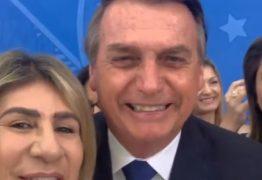 'QUE SAUDADE DA PARAÍBA': ao lado de Edna Henrique, Bolsonaro envia mensagem aos paraibanos; VEJA VÍDEO