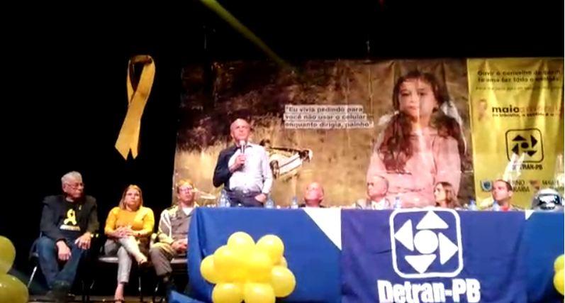 Capturar5 1 - Governo da Paraíba encerra campanha de trânsito Maio Amarelo - VEJA VÍDEO