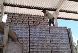 APREENSÃO: Carga de cerveja com nota fiscal irregular é pega em Posto Fiscal