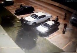 Câmera de segurança registra momento em que procurador é morto com 14 tiros – VEJA VÍDEO