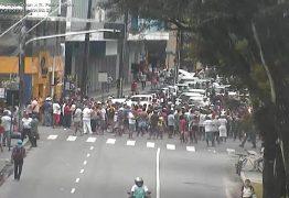 MANIFESTAÇÃO EM JP: Ambulantes protestam contra recomendação do Ministério Público