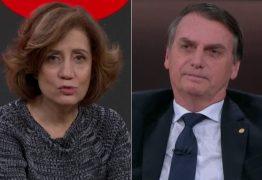 Globo se mantém no ataque e Míriam Leitão faz artigo duro contra Bolsonaro: 'Não sabe governar'