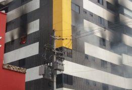 Mulher morre em incêndio em apartamento