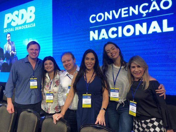 62140243 2226744477578530 2399455081310191616 n 620x465 - Edna e João Henrique participam de convenção nacional do PSDB que elegeu novo presidente do partido