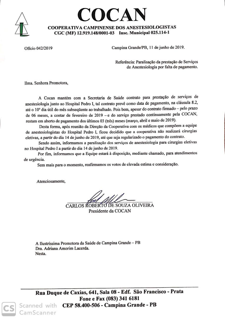 Governo Romero fica sem pagar salários de anestesistas do Pedro I e suspendem cirurgias a partir de sexta