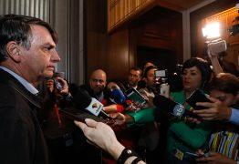 No Japão, Bolsonaro se irrita com jornalistas e se cala sobre os 39 Kg de cocaína no avião da comitiva presidencial