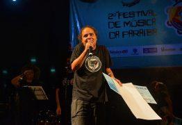 CANÇÃO E INTERPRETAÇÃO: Chico Limeira vence II Festival de Música da Paraíba com 'Carta para Maria'