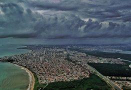 Alerta de acumulado de chuva é renovado pelo Inmet para 105 cidades da Paraíba