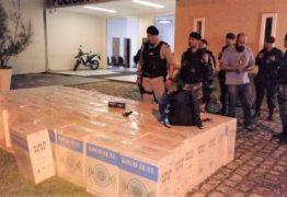 Polícia Militar desarticula abrigo de bandidos e apreende 3 toneladas de cigarros