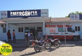 Idoso é internado na UTI do Hospital Regional de Sousa com suspeita de H1N1