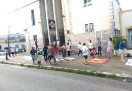 CORPUS CHRISTI: Católicos montam tapetes para celebrações da data em JP