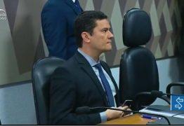 ACOMPANHE AO VIVO: Em audiência na CCJ do Senado, Moro explica mensagens divulgadas por site