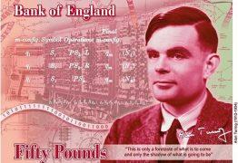 Alan Turing, gênio matemático castrado por ser gay, vai estampar nota de 50 libras
