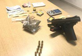 Suspeito de atuar no tráfico de drogas é preso durante ação em mercado público no bairro dos Estados