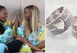 APAIXONADA: Anel de compromisso que Ludmilla deu para a namorada custou R$30 mil; VEJA VÍDEO