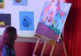 Exposição de obras de arte dos alunos marca retorno das atividades da creche da ALPB