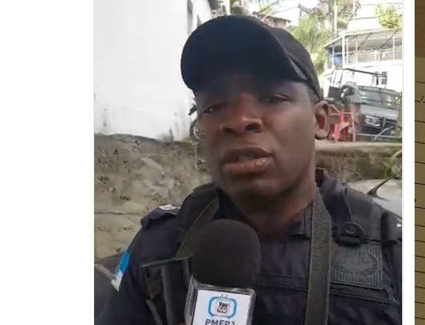 LIVE - PM faz live durante operação policial no morro carioca: