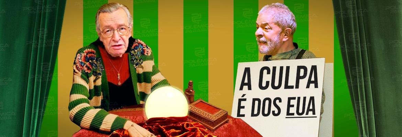 WhatsApp Image 2019 07 04 at 13.09.34 - Lula repete besteiras e Olavo insiste em patacoadas. É o Brasil! - Por Nonato Guedes