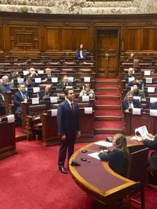 WhatsApp Image 2019 07 15 at 16.42.11 225x300 - EM MONTEVIDÉU: Senador Veneziano toma posse no Parlasul e já debate acordo comercial entre Mercosul e União Européia