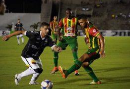 PERDEU DE VIRADA: Jogo entre Botafogo-PB e Sampaio Corrêa termina em 2 a 1 e time paraibano pode deixar G4