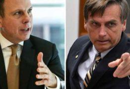 'Esse está morto', afirma Bolsonaro sobre chances de Dória para 2022