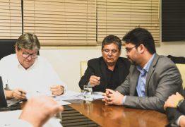 Em encontro com João Azevedo, prefeito Berg Lima apresenta prioridades