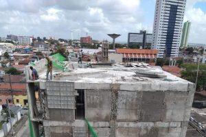 estrutura do predio que desabou na torre em jp 300x200 - CREA revela construtora e nome do engenheiro de obra que desabou na capital; veja