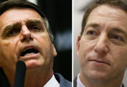 'TALVEZ PEGUE CANA POR AQUI NO BRASIL': Bolsonaro fala em possibilidade de prisão para Greenwald