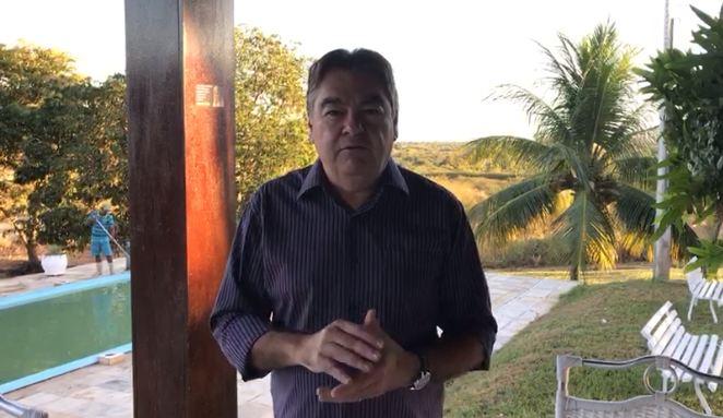 lindolfo pires video aniversário sousa - Lindolfo Pires comemora aniversário de Sousa ao lado de Fábio Tyrone e amigos