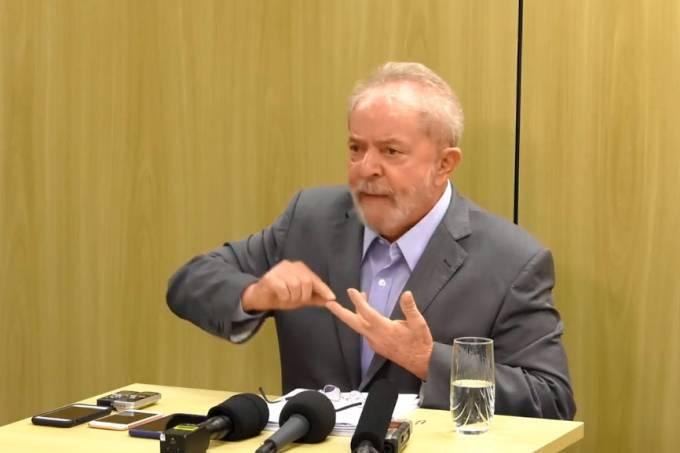 """lula - Lula diz que Moro não deveria """"se esconder atrás do cargo"""" de ministro - VEJA VÍDEO"""