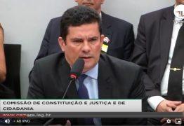Sérgio Moro fala sobre vazamento de mensagens na CCJ: ACOMPANHE AO VIVO