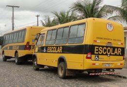 Bandidos realizam arrastão em ônibus escolar na Paraíba