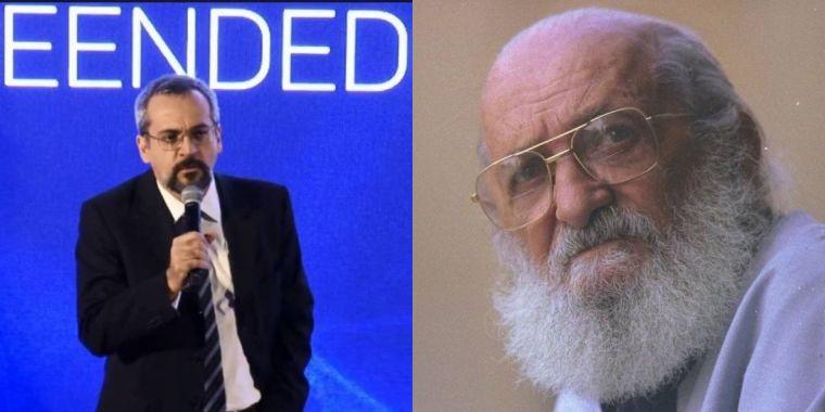 1564751056357796 - 'É ou não é feio de doer?', escreve Abraham Weintraub sobre mural de Paulo Freire