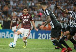 Flamengo vence Ceará por 3 a 0 e assume liderança do Campeonato Brasileiro