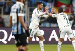 Palmeiras vence o Grêmio e leva vantagem na Libertadores