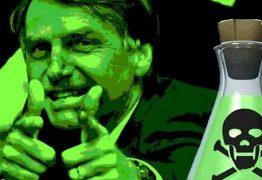 BOLSONARO VENENO 262x180 - Como Bolsonaro pulveriza veneno no PT mas, morre também pelo efeito da inalação - Por Gilvan Freire