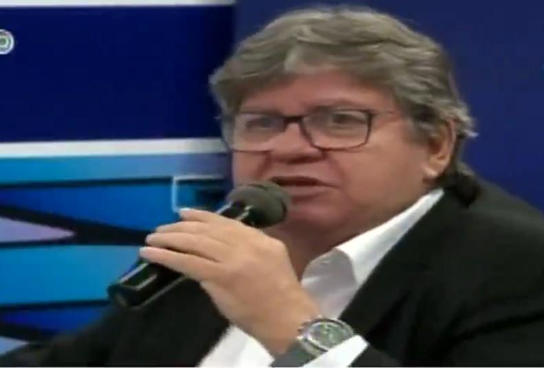 Capturar 21 - João Azevedo: não tenho obrigação de estar alinhado com qualquer que seja o presidente para que a Paraíba possa receber recursos federais