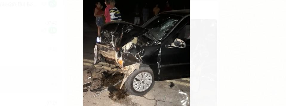 Capturar 51 - Prefeito de Bom Jesus e ex-prefeito de Cachoeira se envolvem em acidente em Triunfo