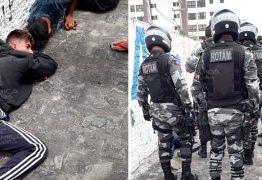 Bandidos tentam assaltar carro dos correios, trocam tiros com policial e são presos – VEJA VÍDEO