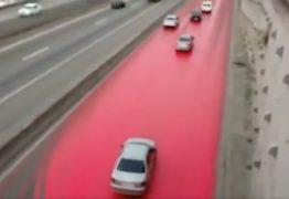 Caminhão derrama agrotóxico e interdita Rodovia Dutra no RJ