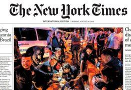 New York Times: Bolsonaro é o 'menor e mais mesquinho' dos líderes globais