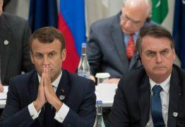 """Bolsonaro diz que aceita ajuda do G7 se Macron se desculpar por """"insultos"""""""