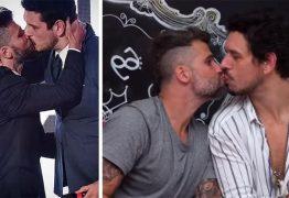 Gagliasso e João Vicente repetem beijo e fazem revelações sobre sexo; VEJA VÍDEO