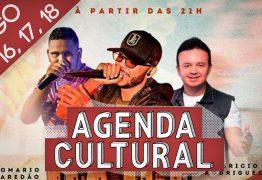 AGENDA CULTURAL: saiba quais atrações que vão animar o fim de semana em João Pessoa