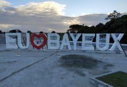 NOVIDADE: Letreiro 'Eu Amo Bayeux' será instalado nesta terça no bairro Jardim Aeroporto