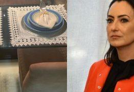Mulher de Moro publica foto de mesa de jantar e manda recado para feministas: 'Sorry, mas amo cuidar de quem amo'