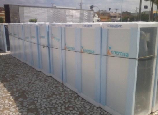 geladeiras energisa - Energisa vai trocar nesta quinta, geladeiras de 100 famílias do bairro Mario Andreazza, em Bayeux